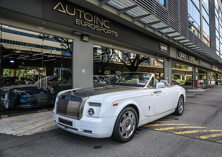 2008 Dec Rolls Royce Phantom Drophead