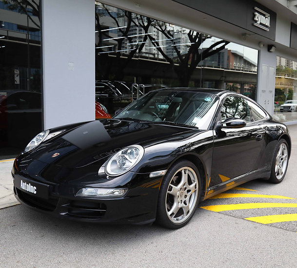2008 Jan Porsche 911 Carrera 4 Coupe Tiptronic (COE till 11/2027)