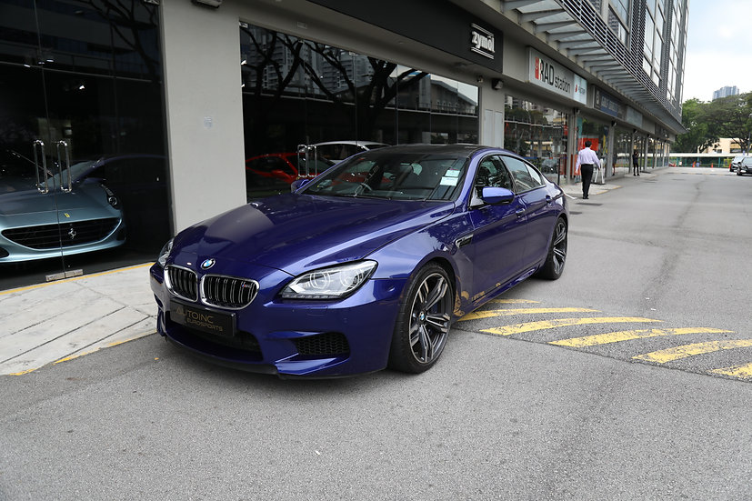 2013 May BMW M6 Gran Coupe