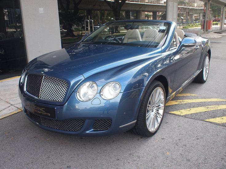 2011 Dec Bentley Continental GTC Speed