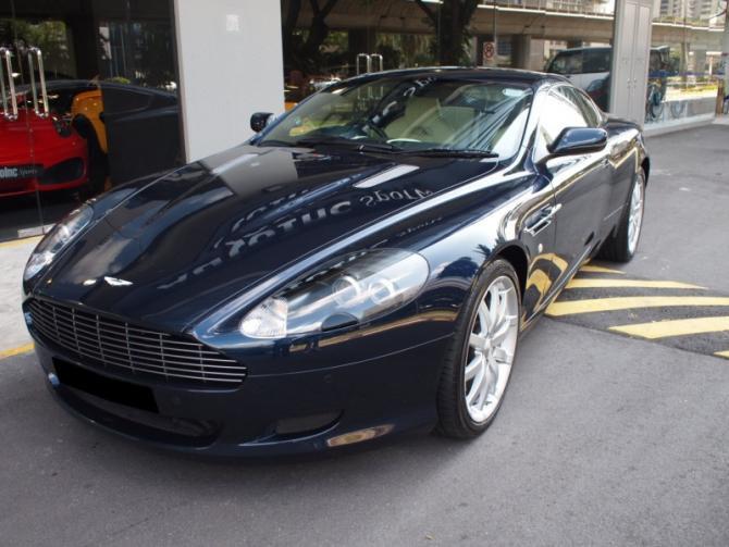 2007 Sep Aston Martin DB9 Coupe