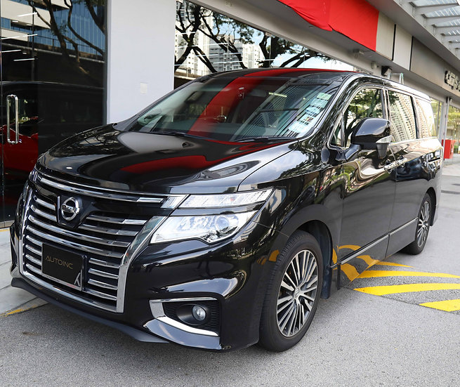 2014 Aug Nissan Elgrand Highway Star