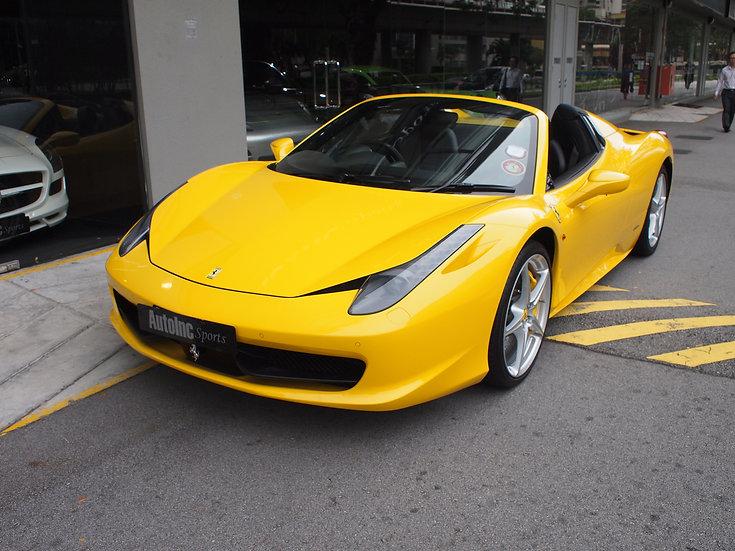 2012 Apr Ferrari 458 Spider