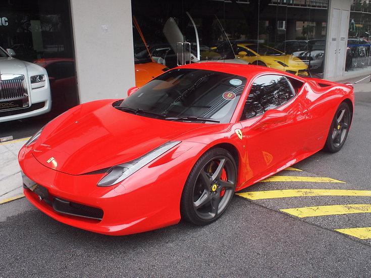 2013 Mar Ferrari 458 Italia