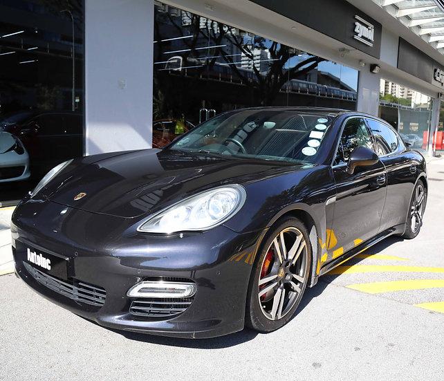 2010 May Porsche Panamera Turbo (New 10-yr COE)