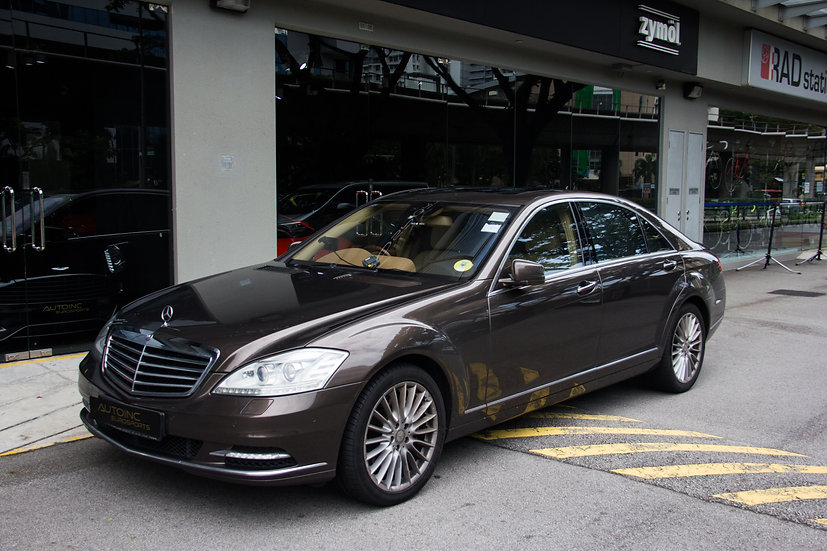 2009 Dec Mercedes Benz S500L