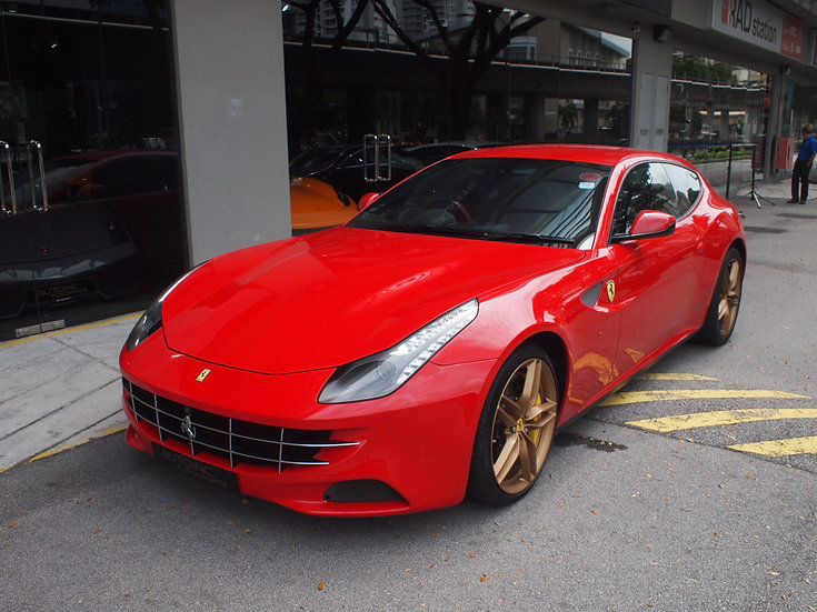 2011 Dec Ferrari FF SMT ABS