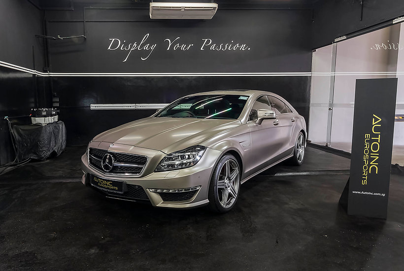 2013 May Mercedes-Benz CLS63 AMG Coupe