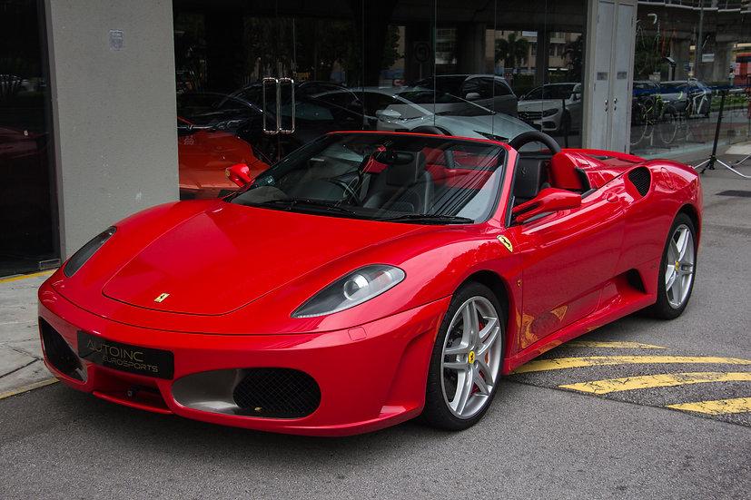 2009 Jul Ferrari F430 Spider