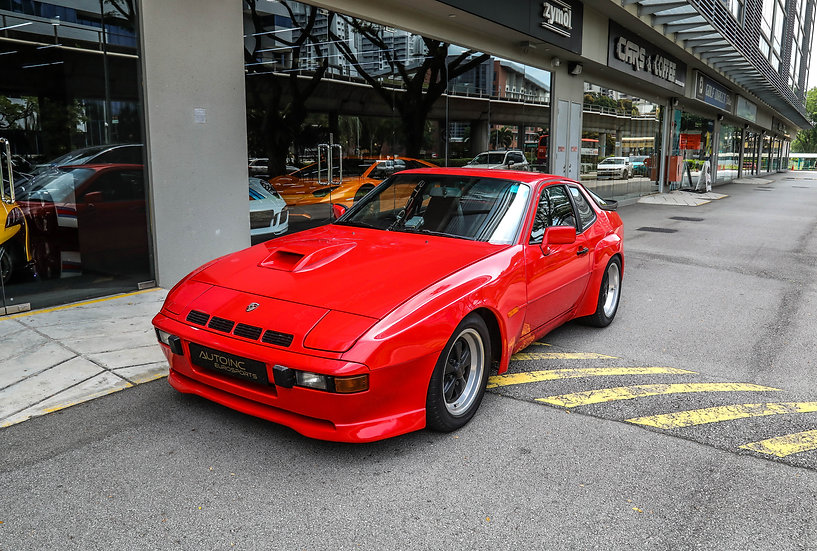 1981 Mar Porsche 924 Carrera GT