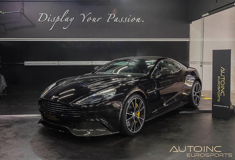 2013 May Aston Martin Vanquish