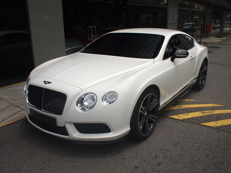 2013 Jan Bentley Continental GT V8