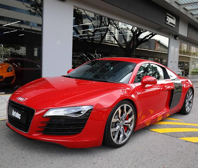 2008 May Audi R8