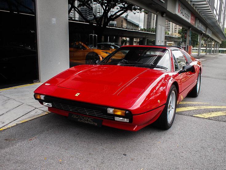 1986 Apr Ferrari 308 GTS Quattrovalvole