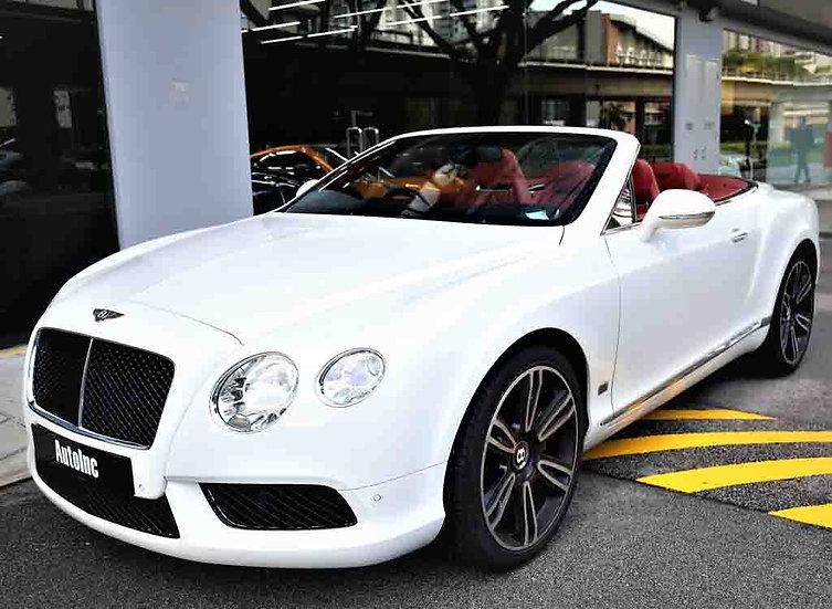 2013 May Bentley Continental GTC V8 Mulliner Edition