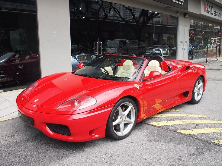 2002 Apr Ferrari 360 Spider