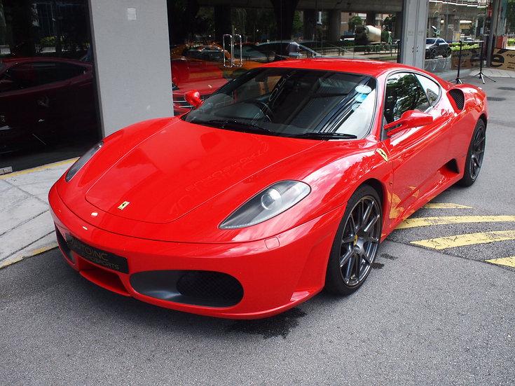 2006 Nov Ferrari F430 F1 Coupe
