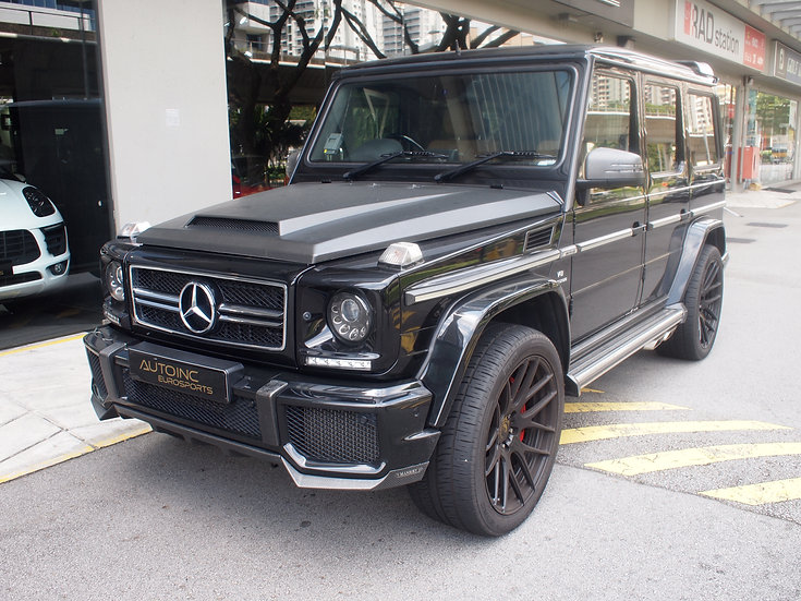 2013 Jan Mercedes-Benz G63 AMG