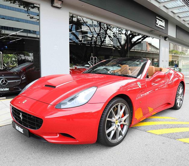 2012 Mar Ferrari California