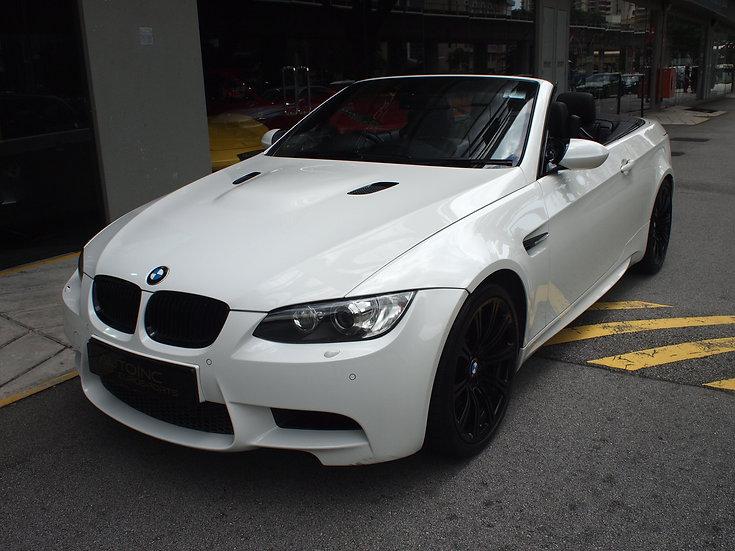2010 Apr BMW M3 Convertible 4.0