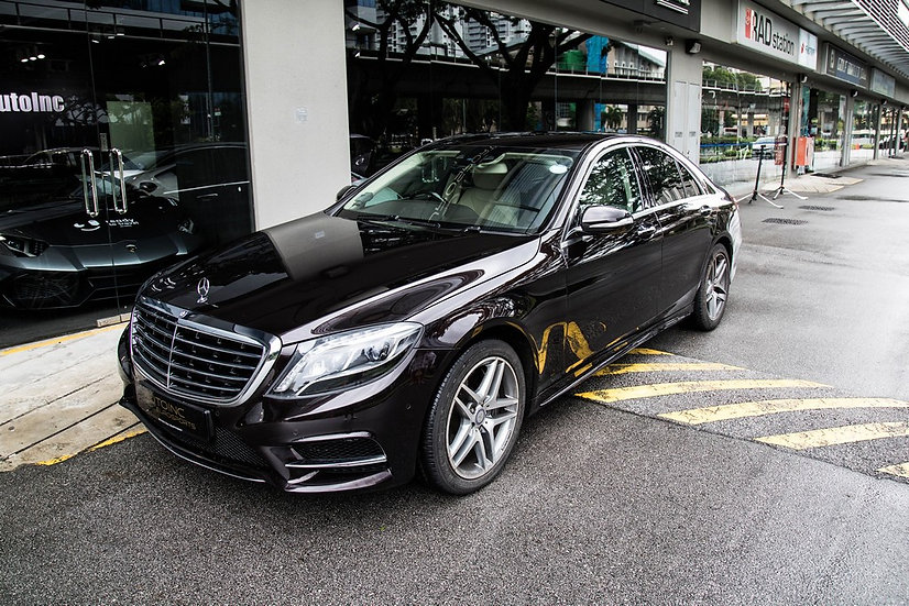 2014 Aug Mercedes-Benz S350 AMG Line Bluetec