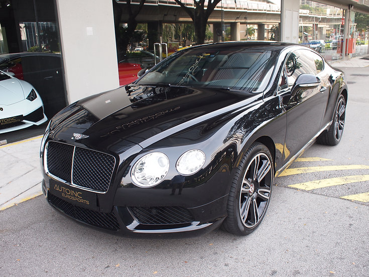 2013 Jan Bentley Continental GT