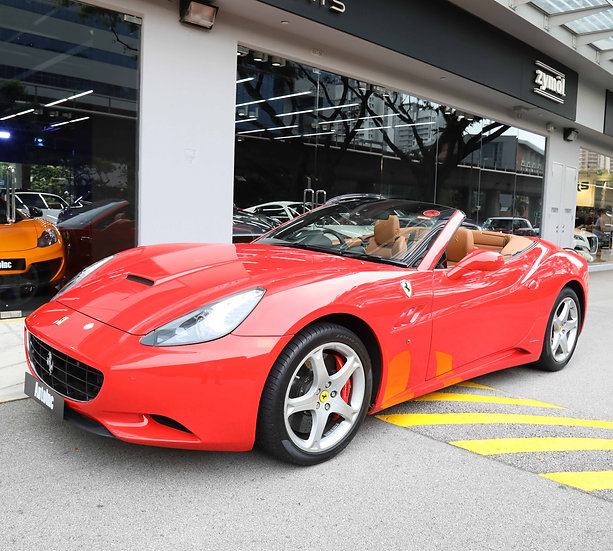 2010 Aug Ferrari California (New 10-Yr COE)