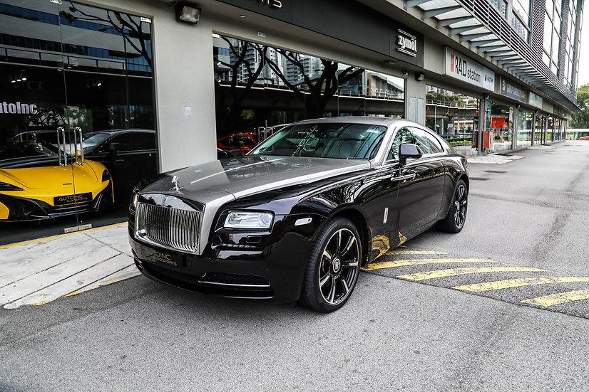 2016 Jan Rolls Royce Wraith