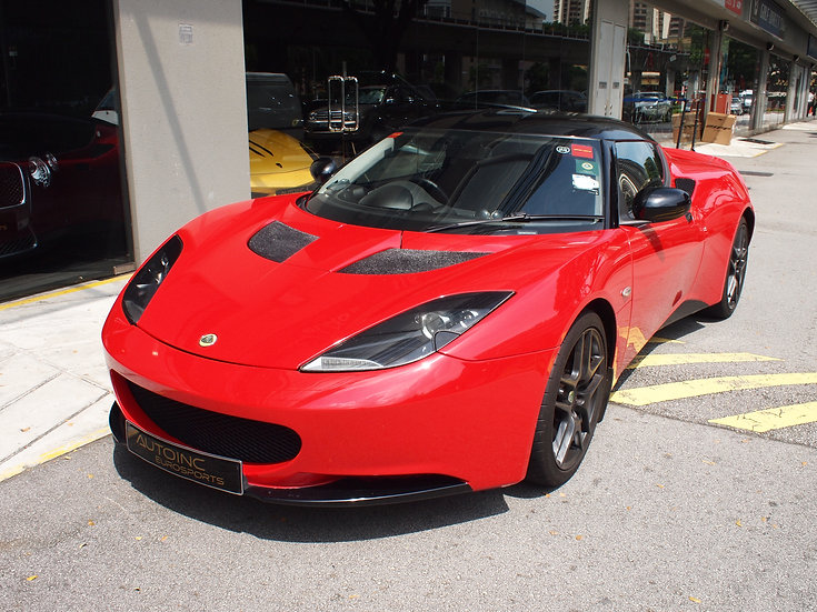 2010 Oct Lotus Evora 2+0 Manual