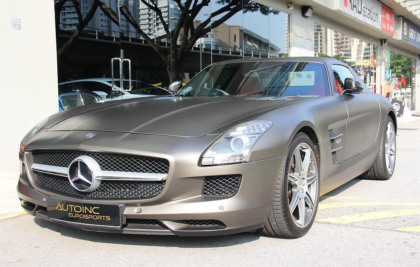 2011 Jan Mercedes-Benz AMG SLS