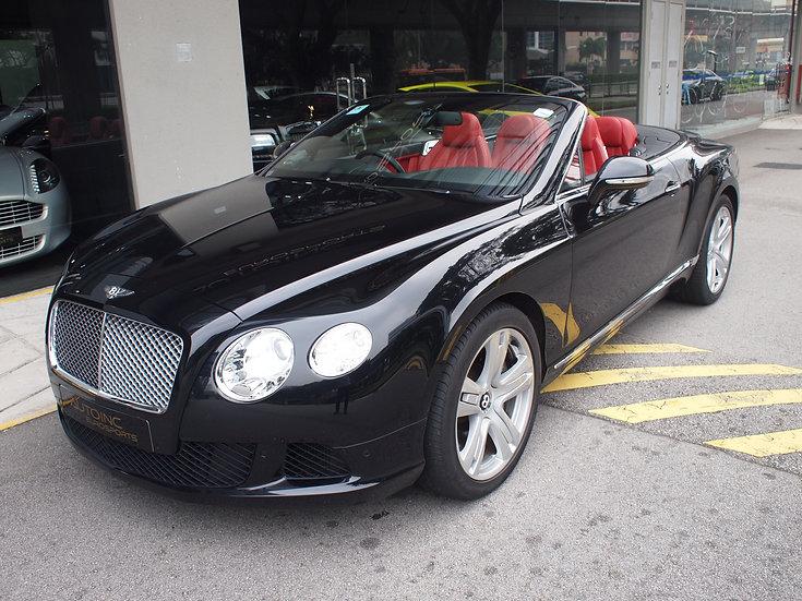 2012 Jun Bentley Continental GTC