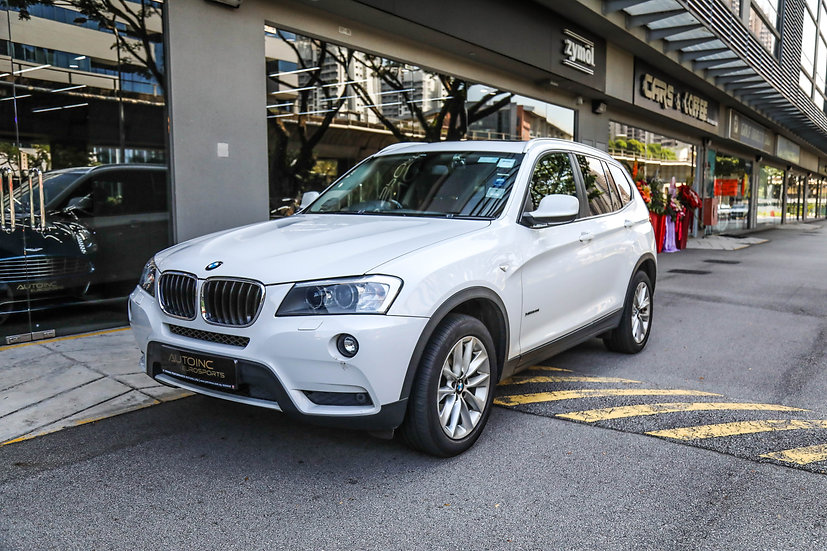 2012 Jun BMW X3 XDrive 2.0L