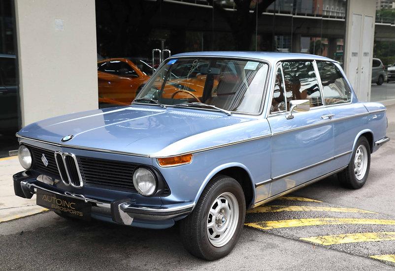 1974 Dec BMW 2002tii (NEW 10-YEAR COE)