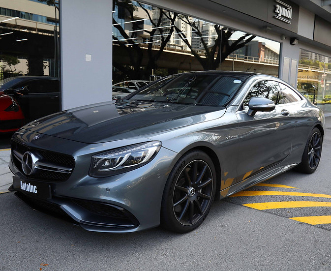 2016 Apr Mercedes-Benz S63 AMG Coupe