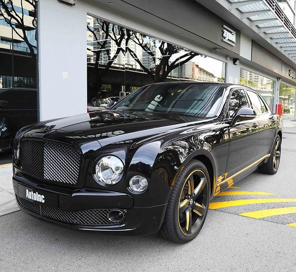 2015 Nov Bentley Mulsanne Speed