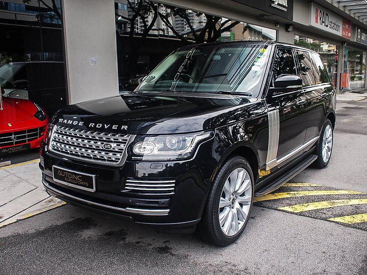 2013 Feb Range Rover Vogue 5.0 SC