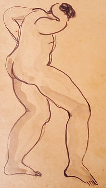 Sanyu Chinese Modern Contemporary Art painting