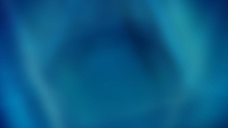 Blå Overflade