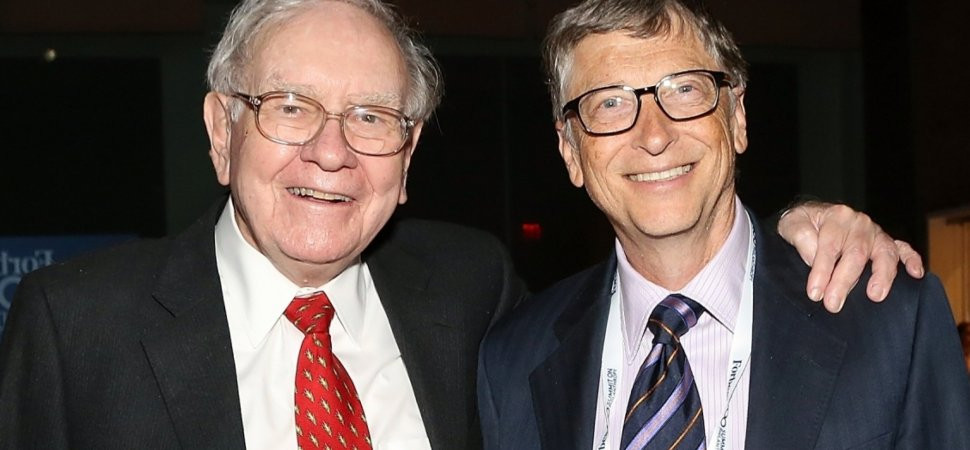 Two of today's most successful men