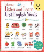 usborne listen and learn english words b
