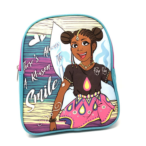 Kids Mini Backpack Purse - There's Always A Reason To Smile