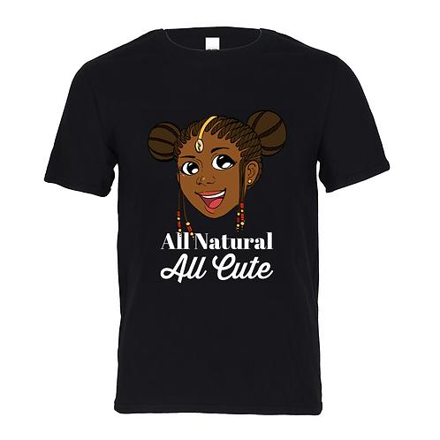 Kids Cotton T-Shirt - All Natural All Cute