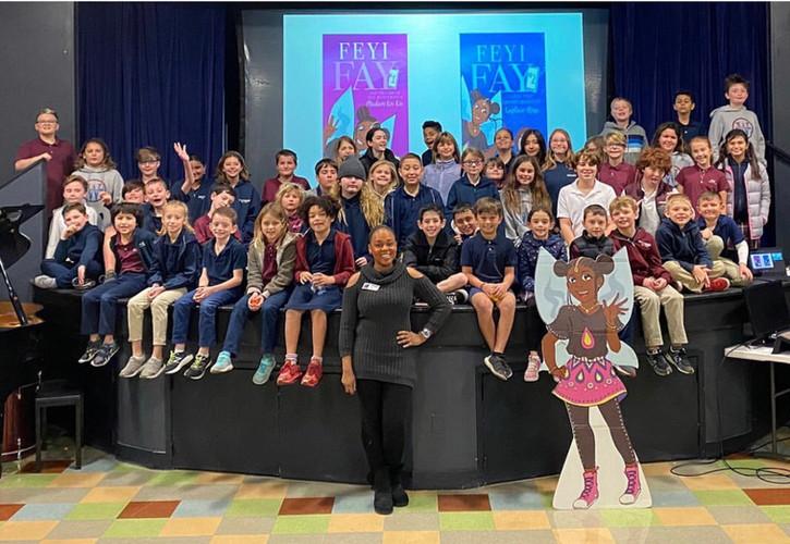 WNS Elementary Author Visit Photo