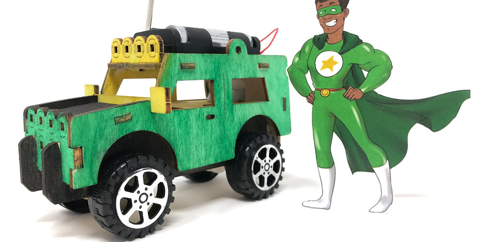 Build A Jeep That Drives! - Art & STEAM Project