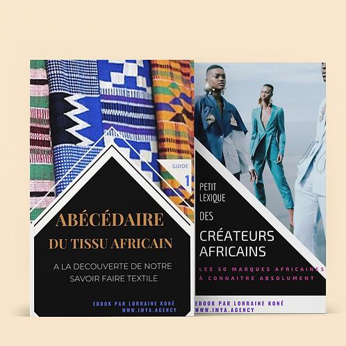 EBOOK DUO - Abécédaire Pagne +Lexique Créateur