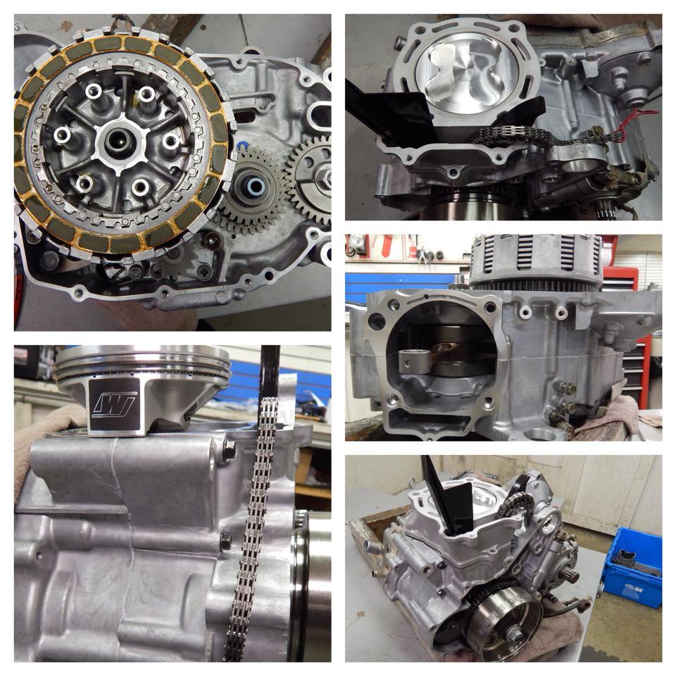 LT-R450 Engine