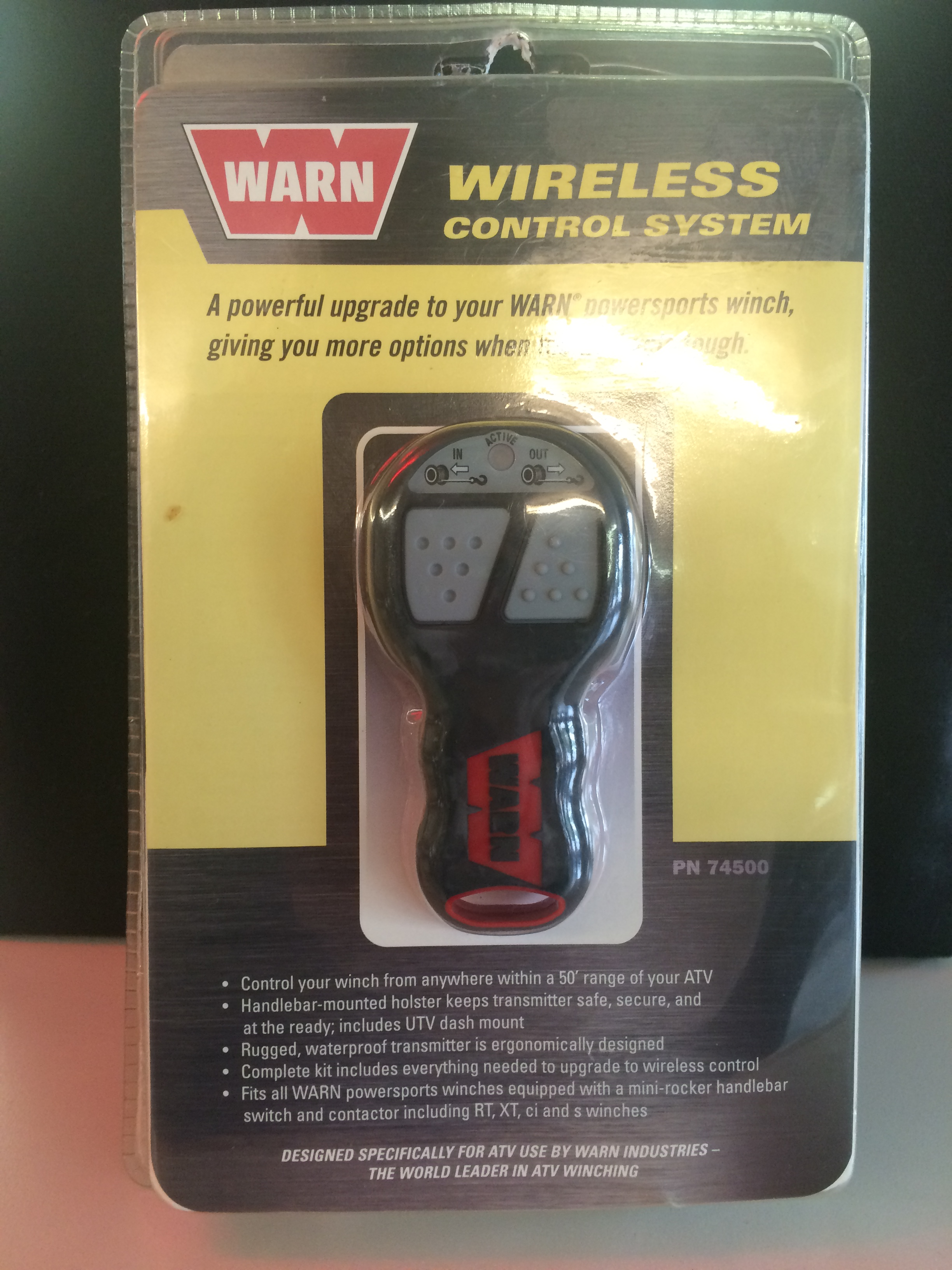 WIRELESS CONTROL FOR YOUR WINCH