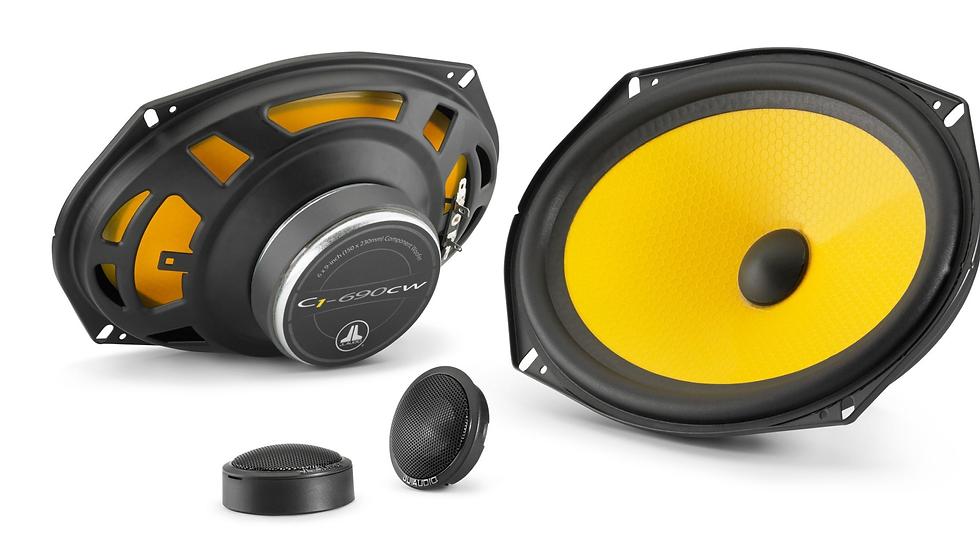 JL Audio C1-690 - 6 x 9-inch (150 x 230 mm) Component Speaker System