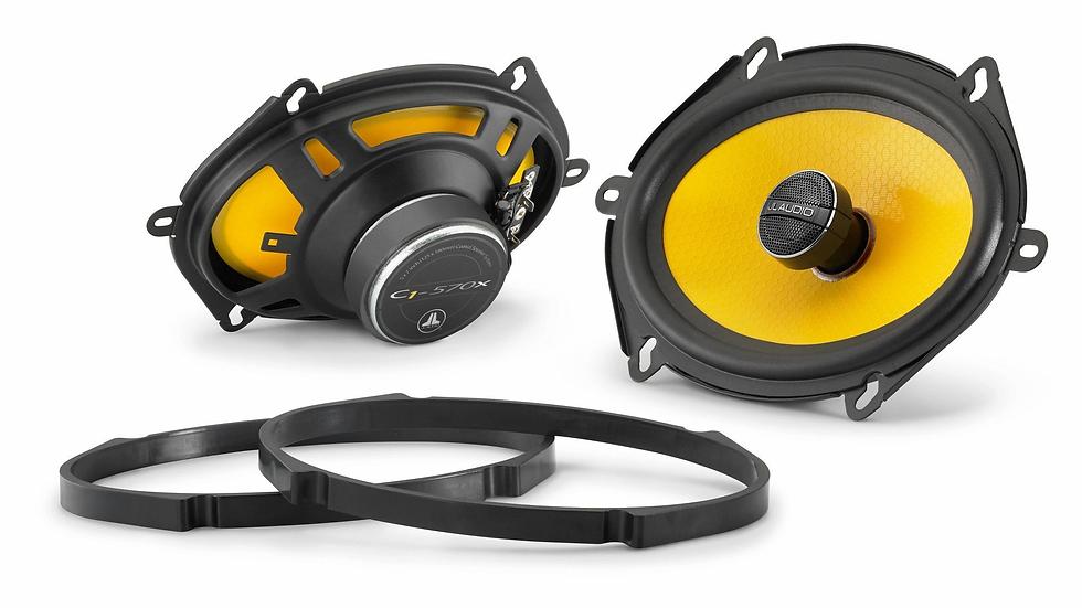 JL Audio C1-570x - 5x7 / 6x8-inch (125 x 180 mm) Coaxial Speaker