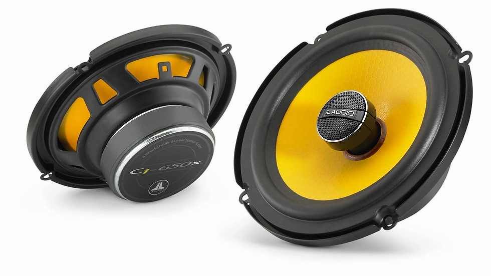 JL Audio C1-650x - 6.5-inch (165 mm) Coaxial Speaker